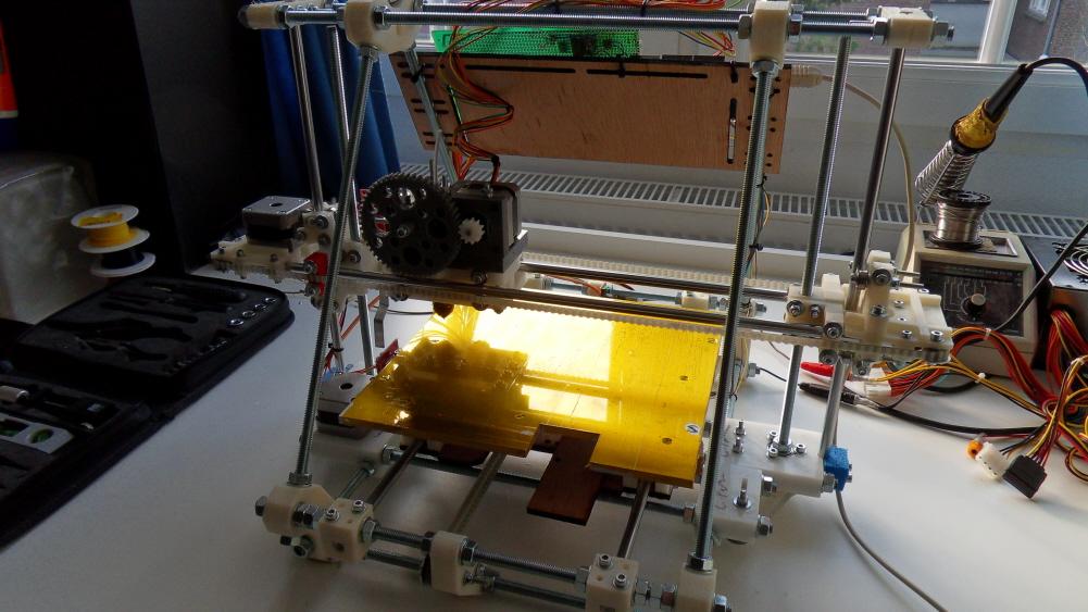 Frankenbot print PLA