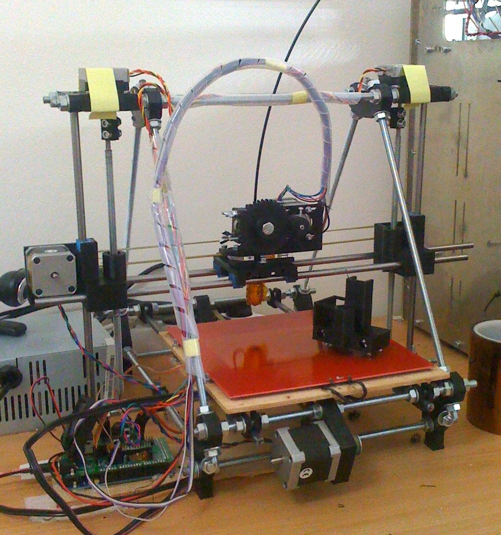 """De eerste """"IkMaak een 3D printer"""" cursus"""