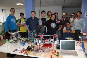 Groepsfoto 23-25 september RepRap Buildparty