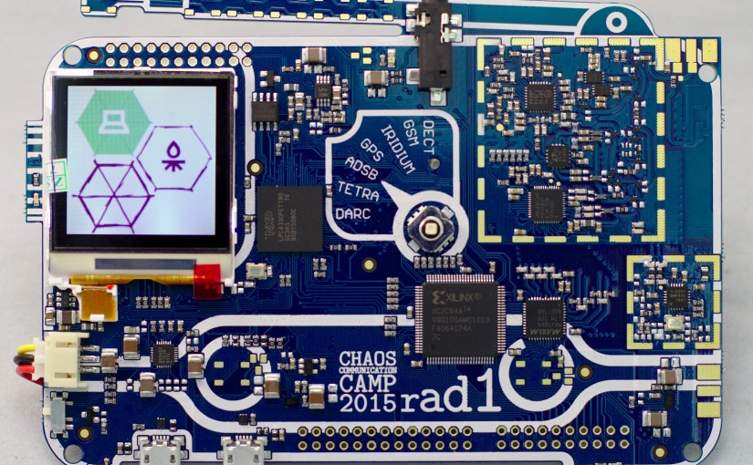 Rad1o, the CCCamp SDR badge