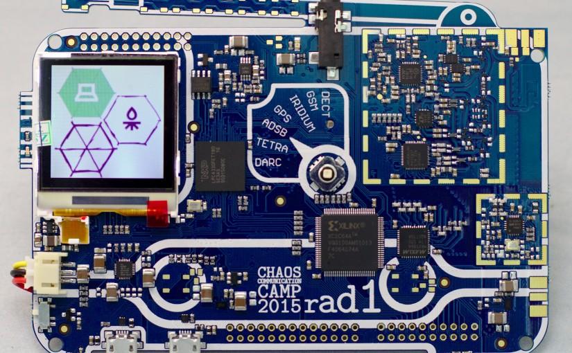 Rad1o, the CCCamp SDR badge